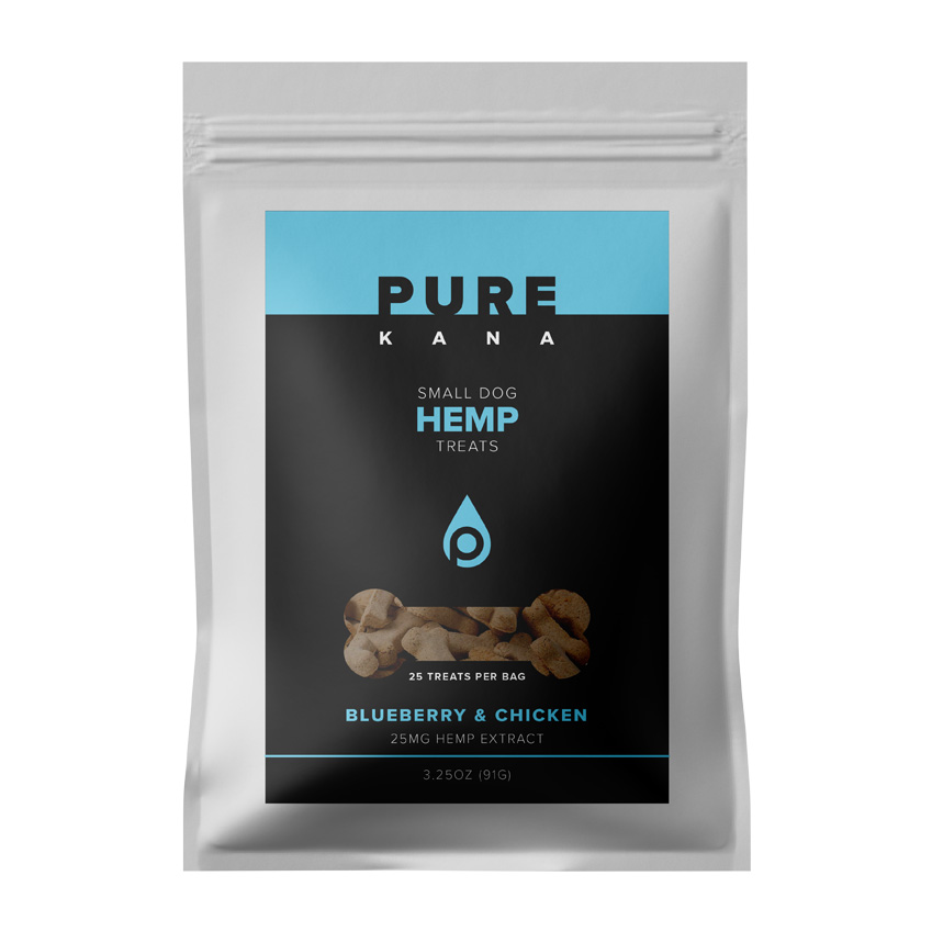 Hemp Dog Treats (Small Dog) – BLUEBERRY & CHICKEN