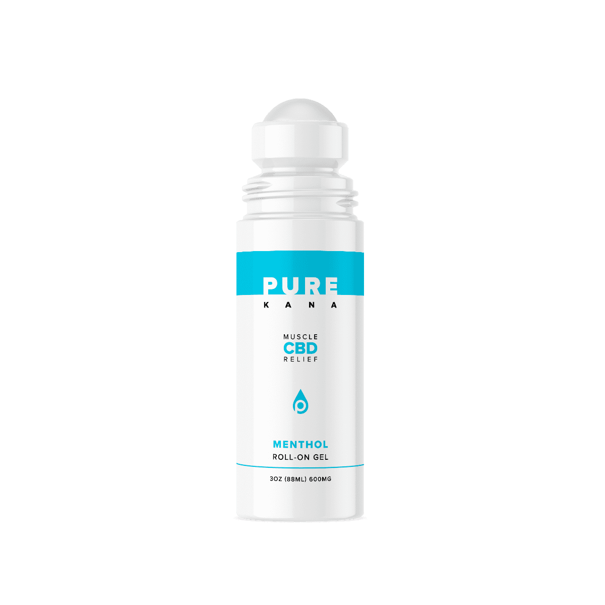 CBD Muscle Menthol Roll-On Gel 3oz 600mg