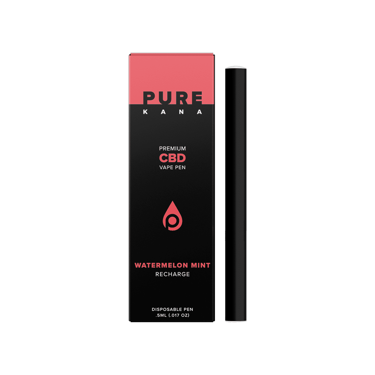 Watermelon Mint CBD Vape Pen (Recharge)