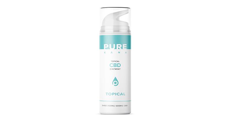 CBD Cream | 3 4oz | 600mg | Buy CBD Topical Cream | CBD Salve | PureKana