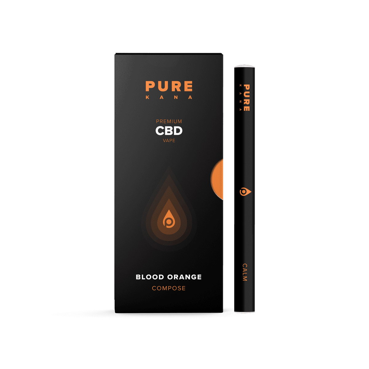 Blood Orange CBD Vape Pen (Composed)