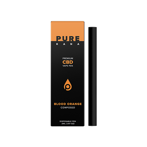 Blood Orange CBD Vape Pen (Composed)