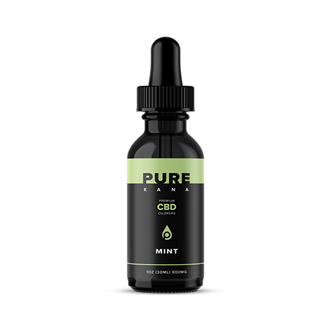 Purekana Mint CBD Oil 600mg