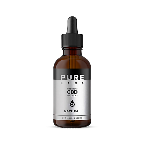 Purekana Natural CBD Oil Extra Strength 2500mg
