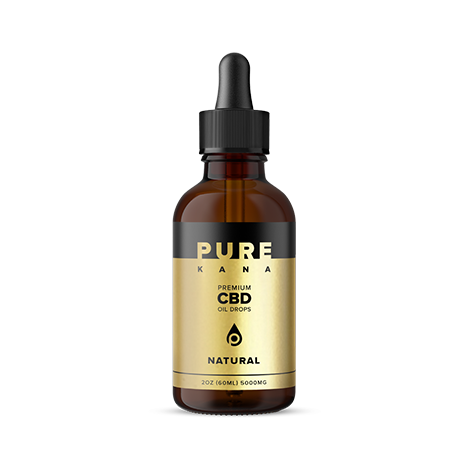 Purekana Natural CBD Oil Extra Strength 5000mg