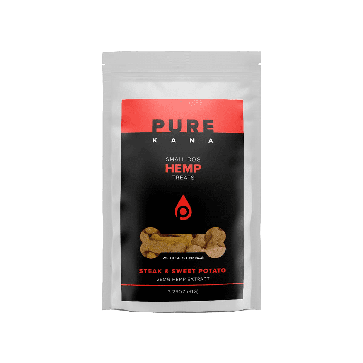 Hemp Dog Treats (Small Dog) – Steak & Sweet Potato