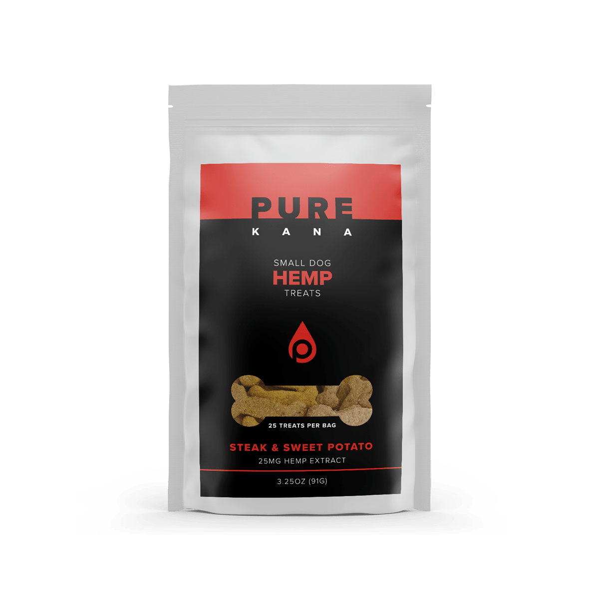 Hemp Dog Treats (Small Dog) –  Steak & Sweet Potato