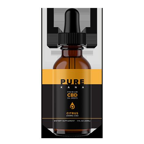 Citrus Flavor CBD Oil Drops 300mg