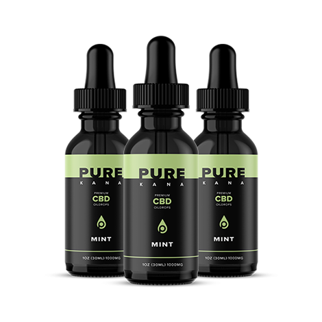 Mint CBD Oil 1000mg Bundle 3x