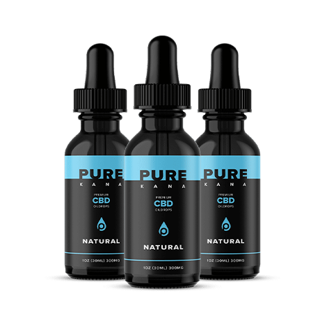 Natural CBD Oil 300mg Bundle 3x