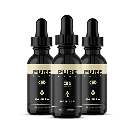 Vanilla CBD Oil 1000mg Bundle 3x