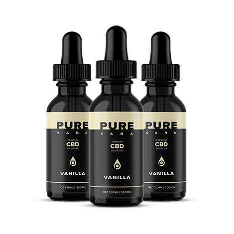 Vanilla CBD Oil 300mg Bundle 3x