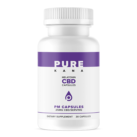 PM CBD Capsules (25mg w/ Melatonin)
